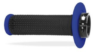 PRO GRIP 708 LOCK ON GRIPS BLACK/BLUE
